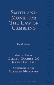 Smith & Monkcom is the Textbook on the law of Betting & Gambling. Gerald Gouriet is editor.